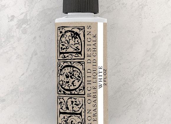 Erasable Liquid Chalk - White, Charcoal Grey 3 fl. oz.