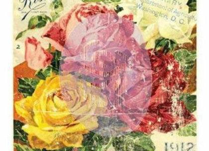 Decor Transfer 24″ x 34″ – Floral Treasures