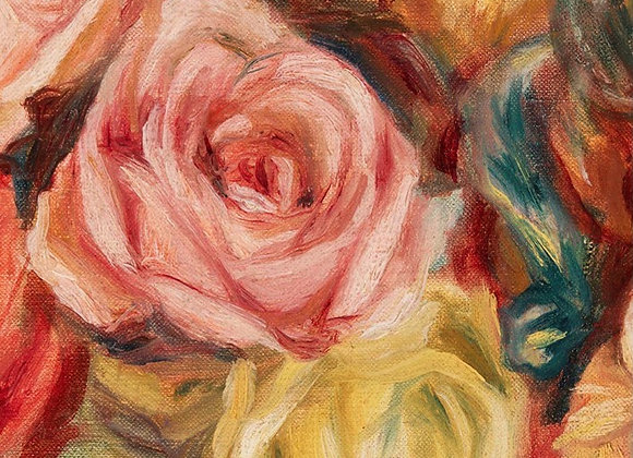 #47 Textured Floral Left