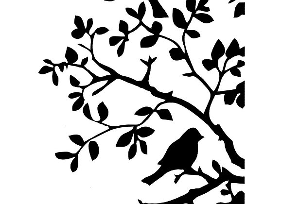 Birds And Bendy Branches