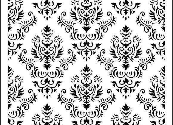Mama's Damask - Designs by Vintage Retail Therapy by Mara