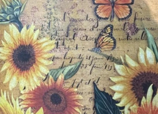 Sunflowers and Butterflies - Small