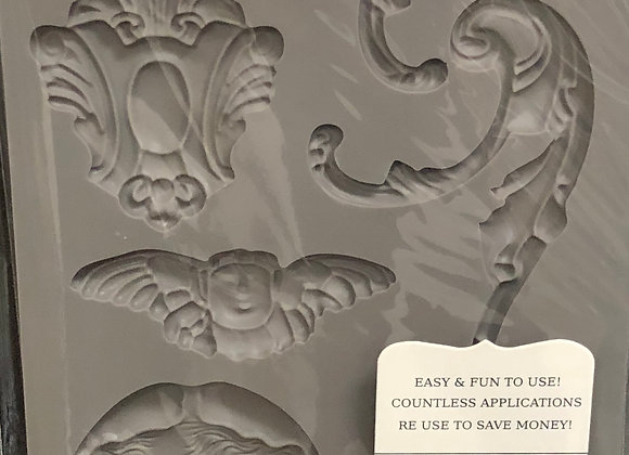 IOD Decor Mould - Baroque 1