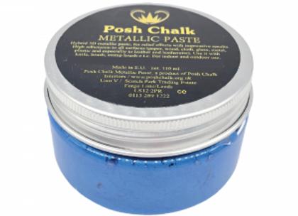 Posh Chalk Metallic Paste - Blue Fhthalo