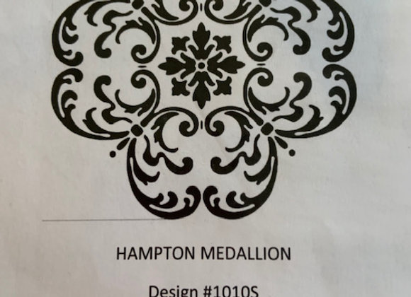 Hampton Medallion Stencil