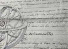 #17 Decoupage Paper - Bee with Italian script