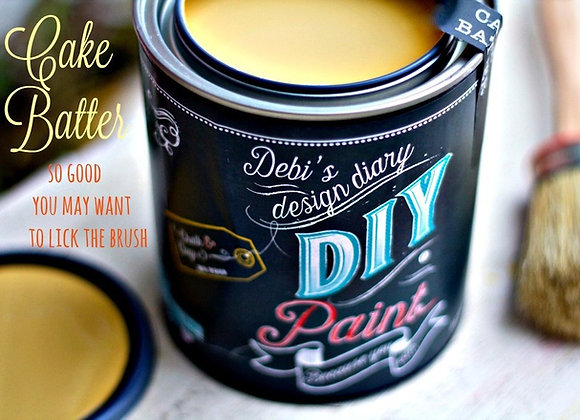 DIY Paint - Cake Batter