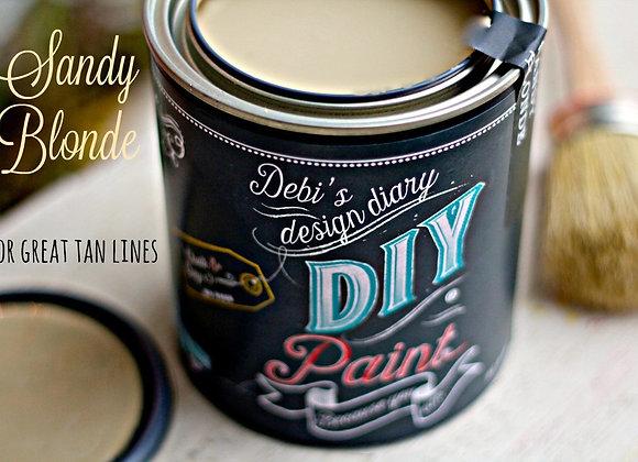 DIY Paint - Sandy Blonde