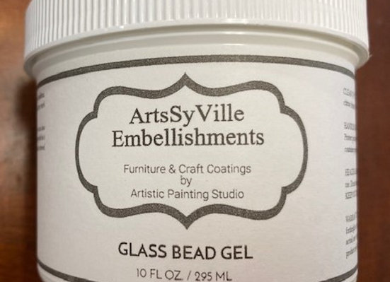 ArtsSyville Embellishments- Glass Bead Gel