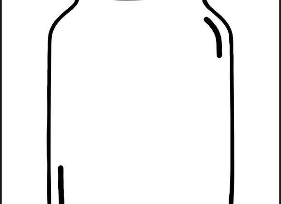 JRV - Canning Jar Stencil