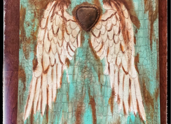 Angel Wings Rust and Patina Class