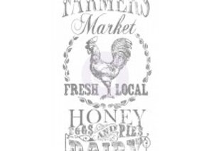 IOD Decor Transfer-Farmers Market 18x36 inch