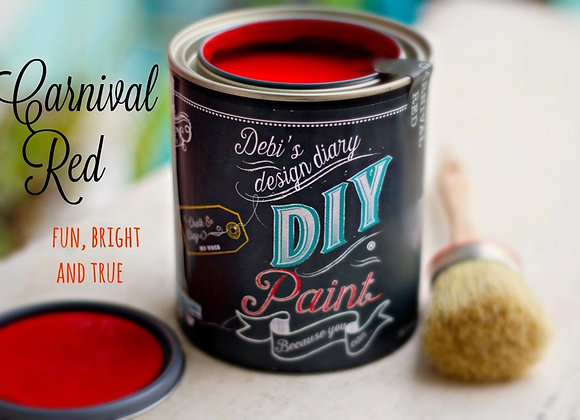DIY Paint - Carnival Red