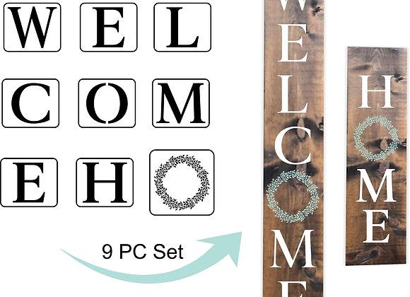 JRV Stencil - Welcome