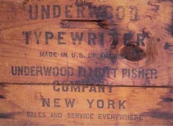 #40 Underwood Crate