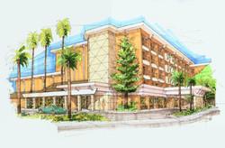 Hilton  Hotel Stocton CA