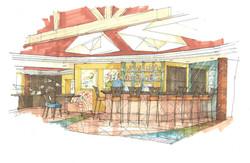 Marriott, Mesa, AZ. Tapa's Bar
