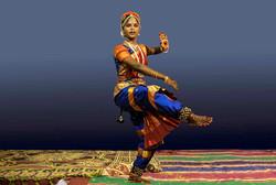 Kanniyammal Dance pose by Carel