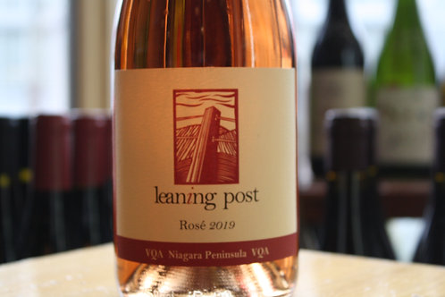 Leaning Post Rose