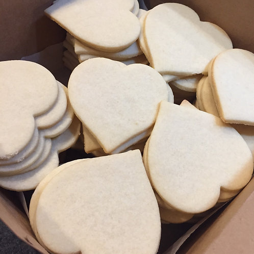 Plain Undecorated Cookies