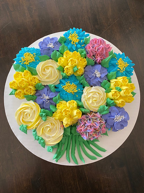 """Floral Cupcake """"Bouquet"""""""