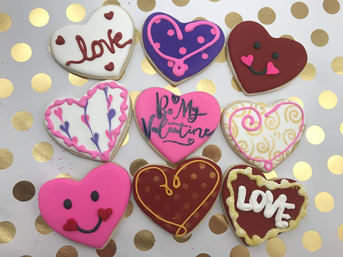 Baker's Choice Valentine's Cookies