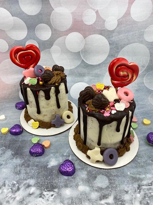 Mini Valentine's Cake