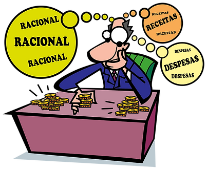 RATIONALIZE RECEIPTS AND EXPENSES - Illustrator: Grego