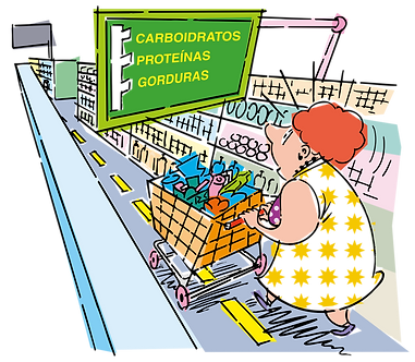 - CARBOHYDRATES, PROTEINS AND FATS Illustrator: Grego