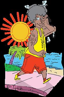 SUN'S PHYSICAL ACTIVITIES - Illustrator: Grego