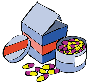 MEDICINES FOR RENAL TREATMENT - Illustrator: Grego