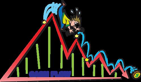 CASH FLOW NO MERCADO FINANCEIRO - Ilustrador: Grego