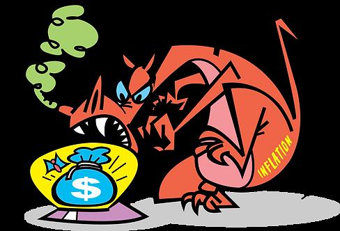 RISK OF INFLATION - Illustrator: Grego