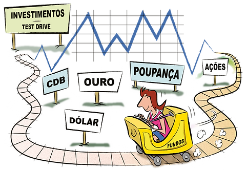 TEST DRIVE IN INVESTMENTS - Illustrator: Grego
