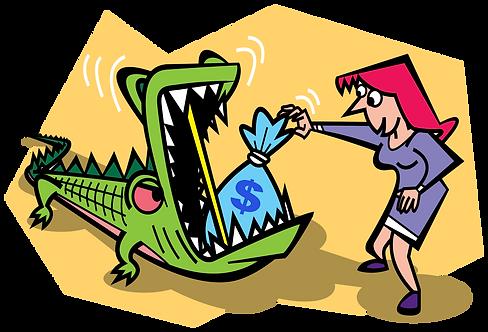 CONTROLLED RISK INVESTMENT - Illustrator: Grego