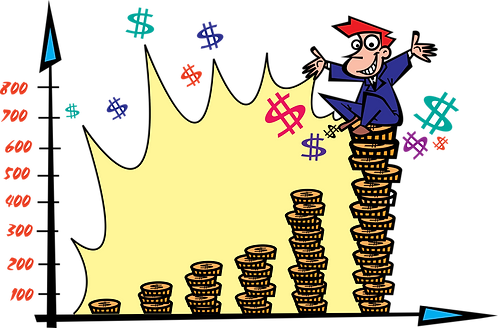 SUCCESS IN THE CHOICE OF INVESTMENT - Illustrator: Grego