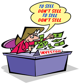 WHAT'S THE BEST DECISION IN INVESTING - Illustrator: Grego