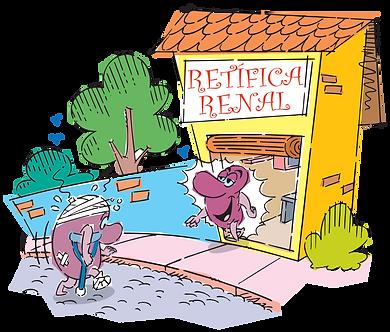 RENAL RETAIL - Illustrator: Grego