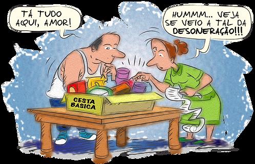 COUPLE RECEIVES BENEFITS - Illustrator: Grego