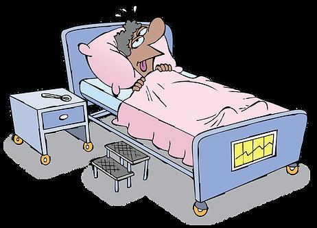 RENAL PATIENT IN TREATMENT - Illustrator: Grego