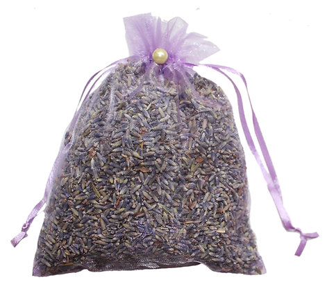 Lavender Organza Bag- Purple