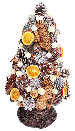Winter Tree: Orange Slice (available in 3 sizes)