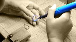 Jewelry manufacturing, wax model