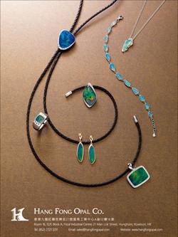 Opal Jewellery Poster
