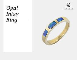 Opal Man rings, Opal inlay, Opal Jewellery, Natural, Silver ring, 14K gold ring, Australian Opal ring, Opal Doublet Ring, 恆豐, HFO, 蛋白石, 澳寶, 歐泊, 戒指