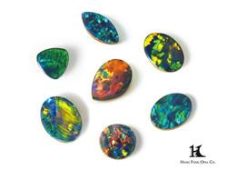 Opal Doublet Size, Australian