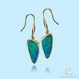Australian opal Earring, doublet opal, opal double, Hang Fong Opal, Opal Triplet, opal manufacturer, beautiful, Jewellery, opal, opal jewellery, opal jewelry, Opal wholesale, opals