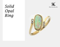 Opal rings, Opal Jewellery, Natural, Silver ring, 14K gold ring, Australian Opal ring, Solid Opal Ring, 恆豐, HFO, 蛋白石, 澳寶, 歐泊, 戒指