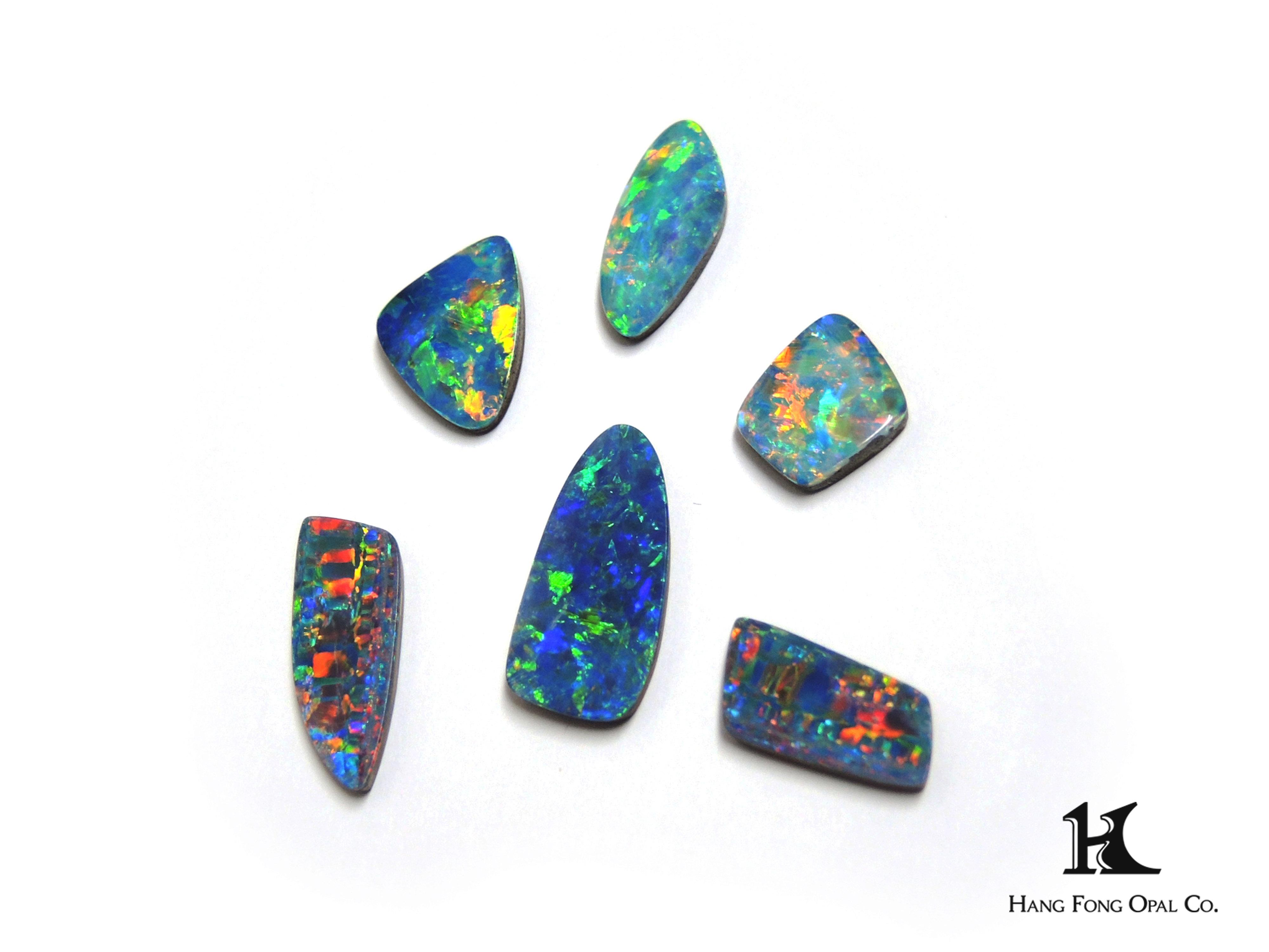 opal doublet, Australian Opal