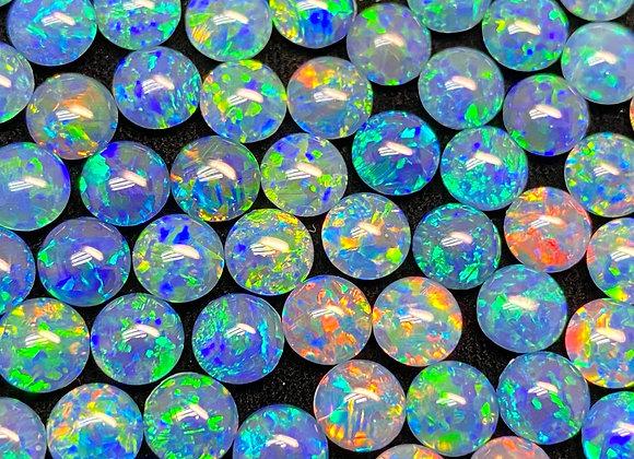 Opal Triplet Round 6mm